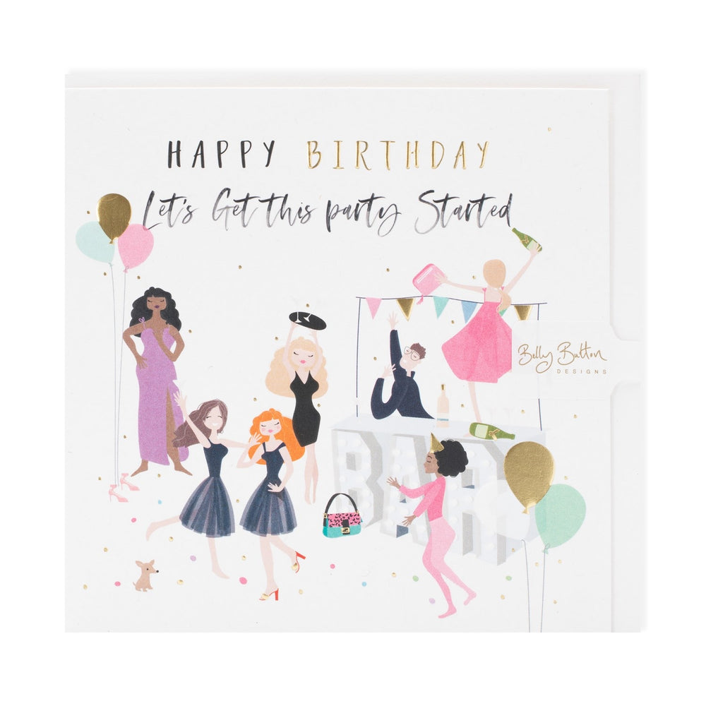 Let's Get This Party Started Happy Days Card