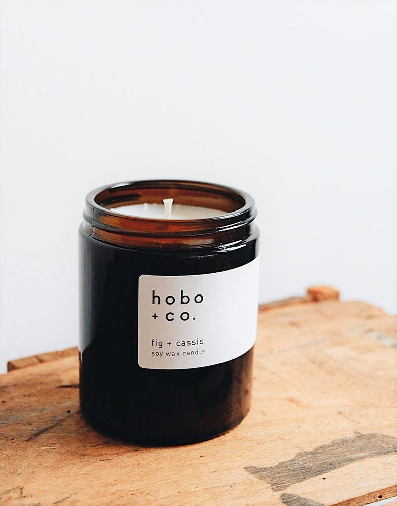 Fig & Cassis Medium Soy Candle