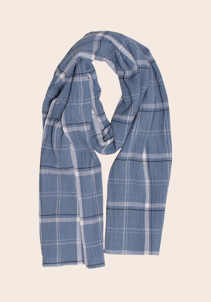 Summer Check Scarf