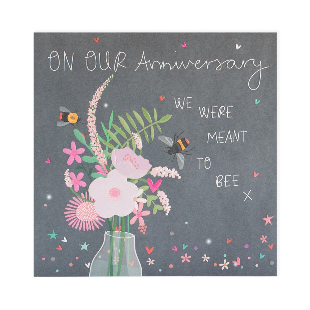 Meant To Bee Anniversary Electric Dreams Card