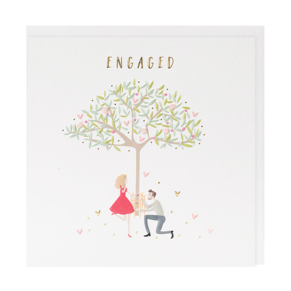 Engaged Happy Days Card