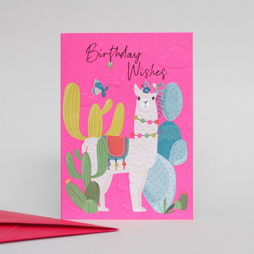Birthday Llama Wild Thing Card