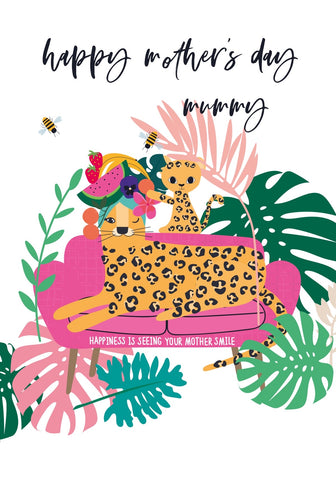 Seeing Your Mother Smile Mother's Day Wild Thing Card