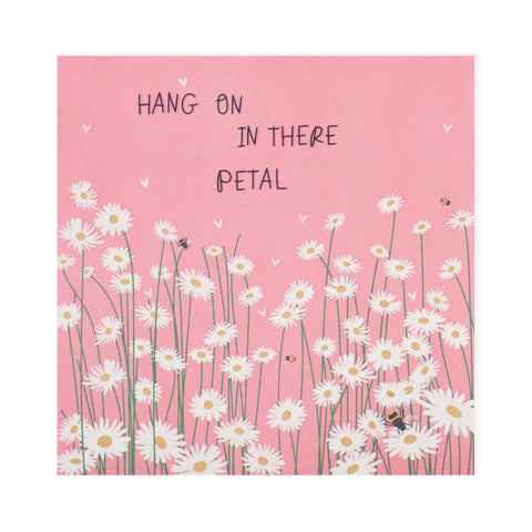 Hang In There Petal Electric Dreams Card