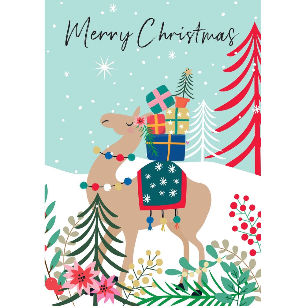 Camel Merry Christmas Wild Thing Card