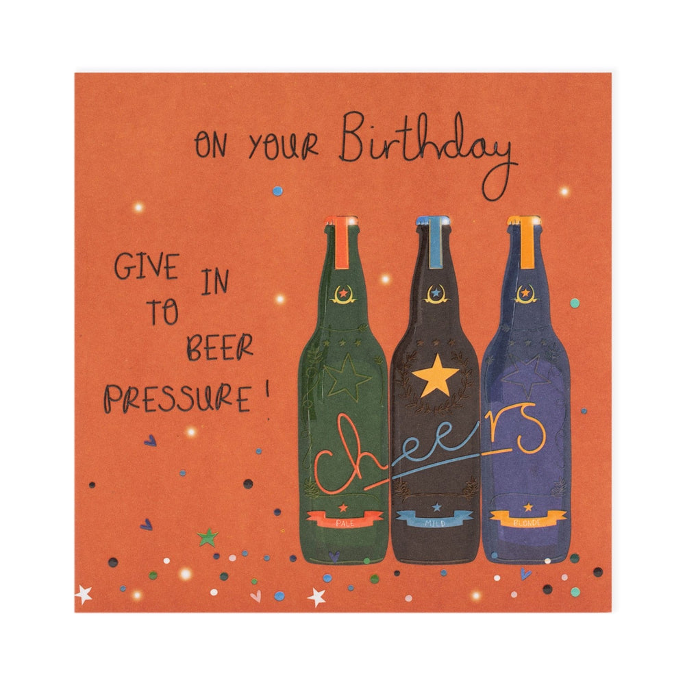 Birthday Beer Electric Dreams Card