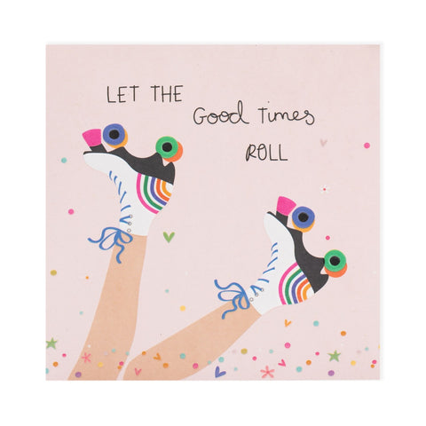 Let The Good Times Roll Electric Dreams Card