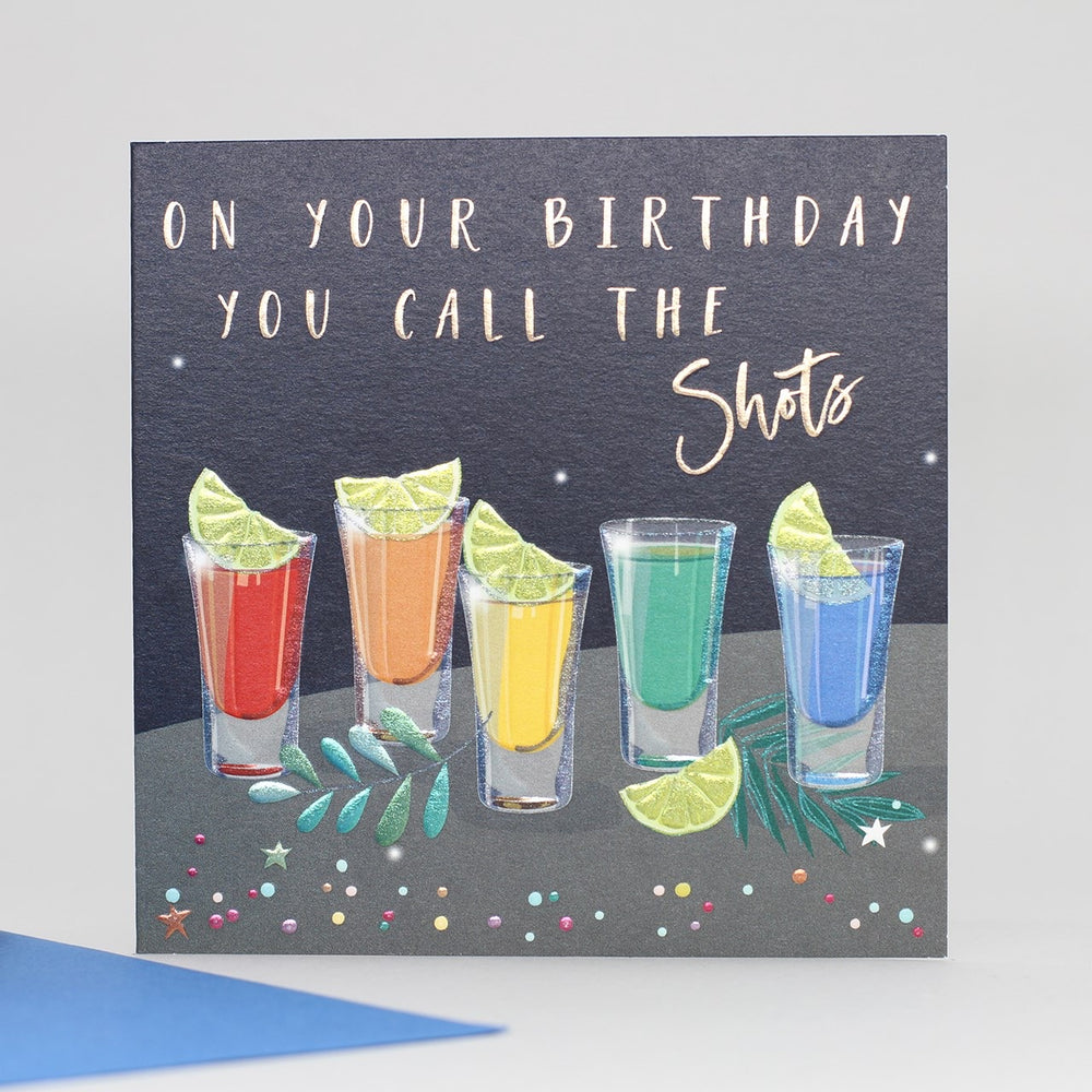 Birthday Shots Card