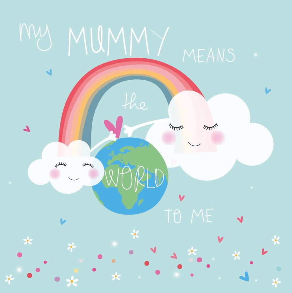 Mummy Means The World To Me Electric Dreams Card