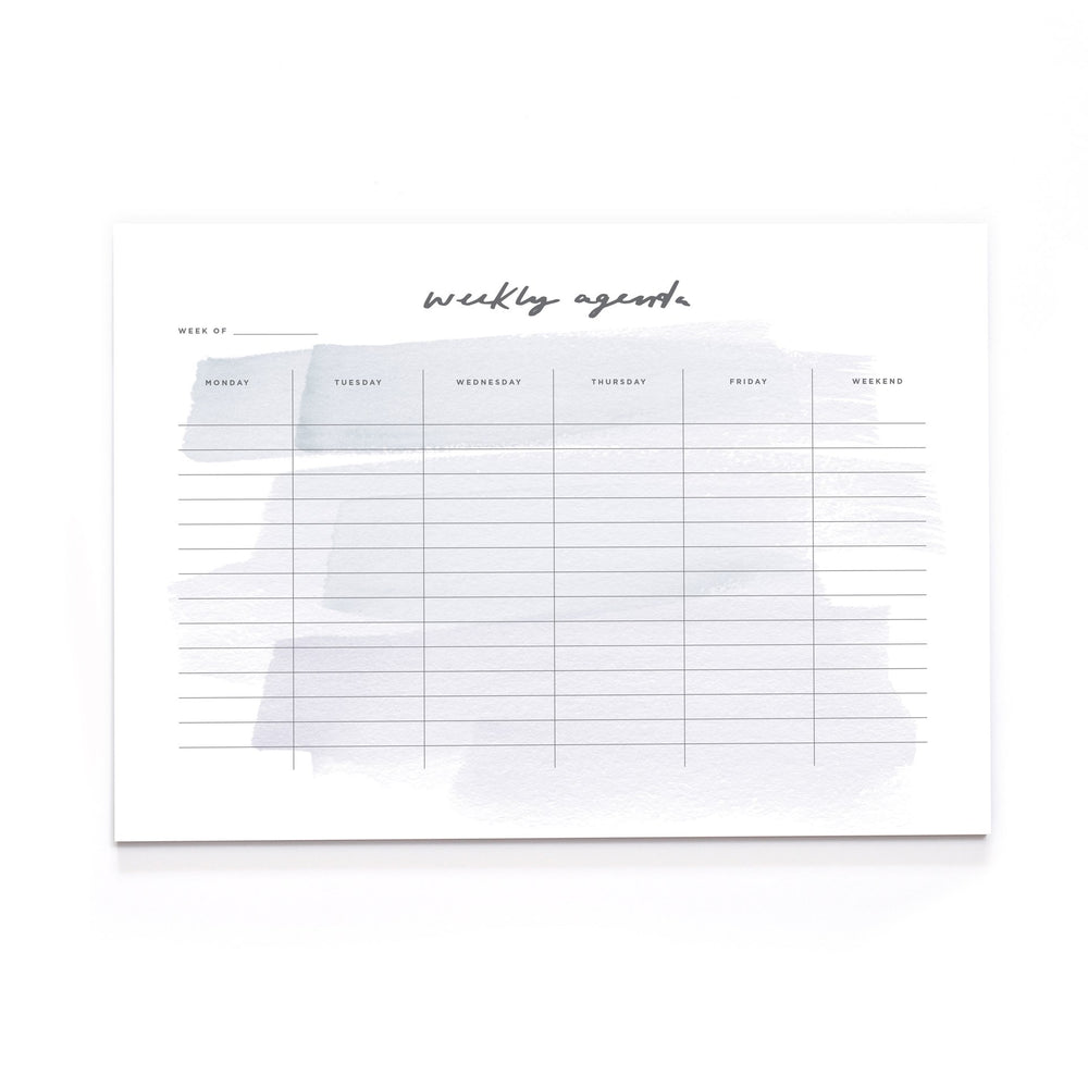 Weekly Agenda Desk Pad