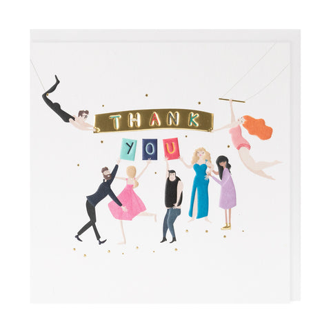 Thank You Happy Days Card