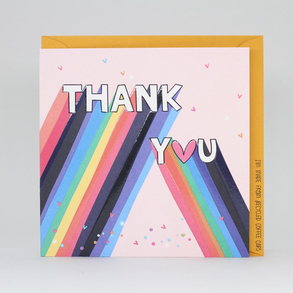 Funky Thank You Electric Dreams Card