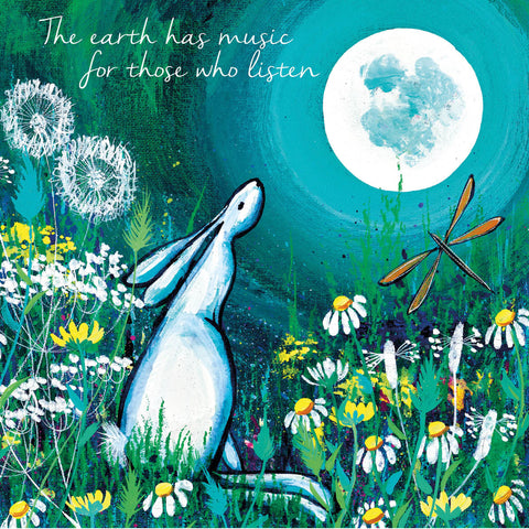 The Earth Has Music Card