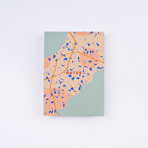 Abstract Brooklyn A6 Notebook