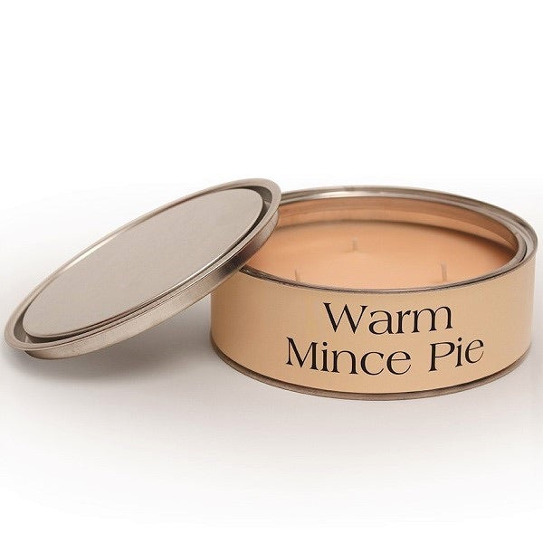 Warm Mince Pie Triple Wick Paint Tin Candle
