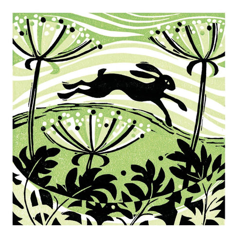 Hillside Hare Card