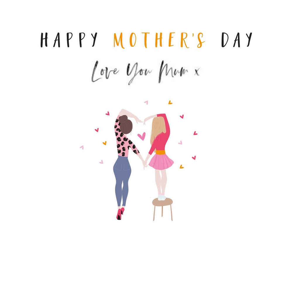 Love You Mum Mother's Day Happy Days Card