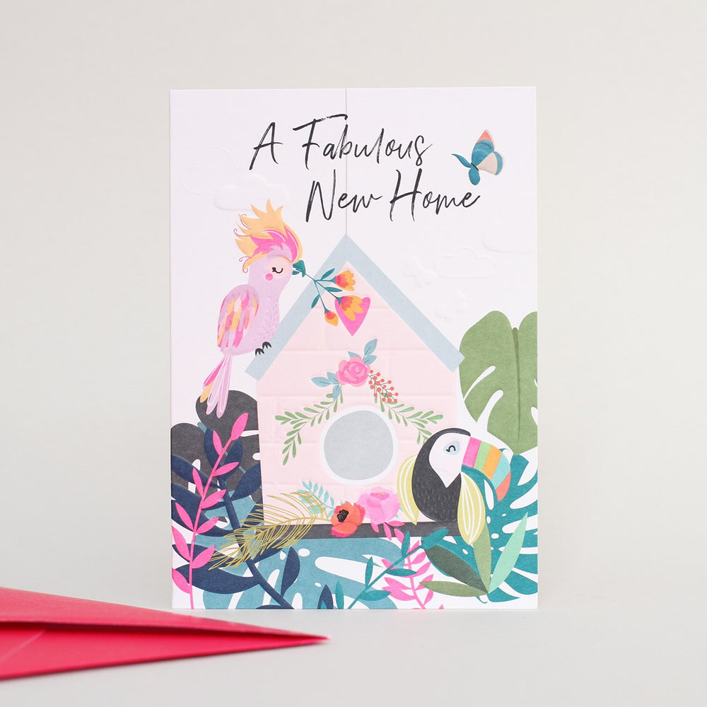 Fabulous New Home Wild Thing Card