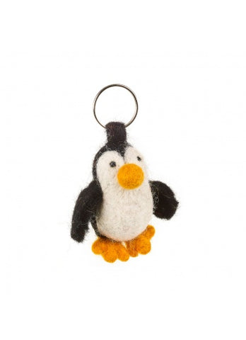 Paul The Penguin Felt Keyring