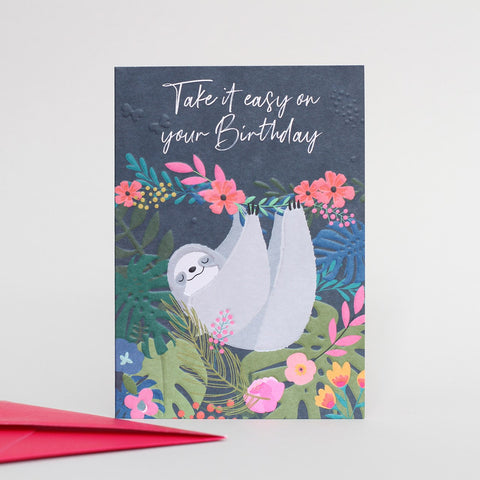 'Take It Easy' Card