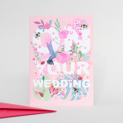 On Your Wedding Day Wild Thing Card