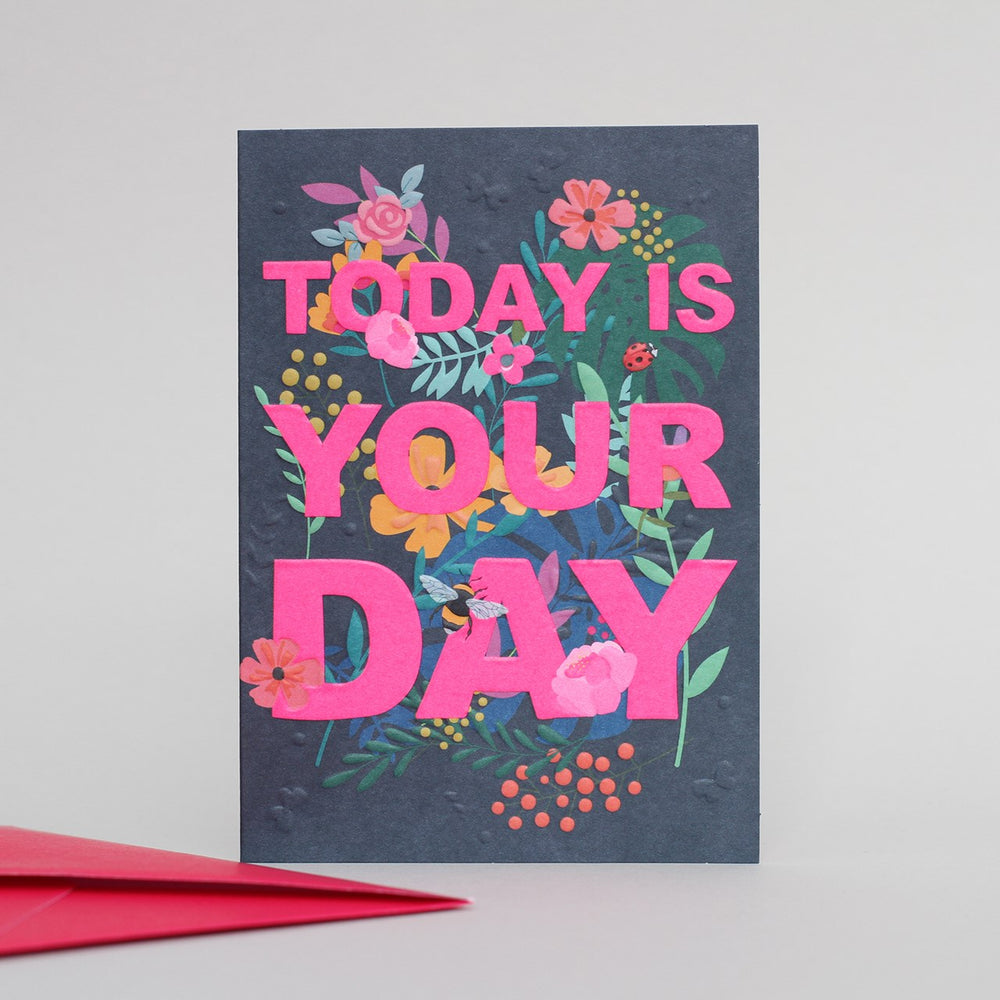 Today Is Your Day Wild Thing Card