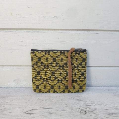 Dhilo Mustard Handwoven Coin Purse