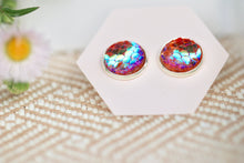 Iridescent Mermaid Studs