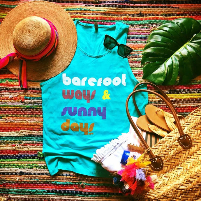 Beach Days Tank / Coverup
