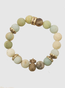 Pineapple Mint Bracelet