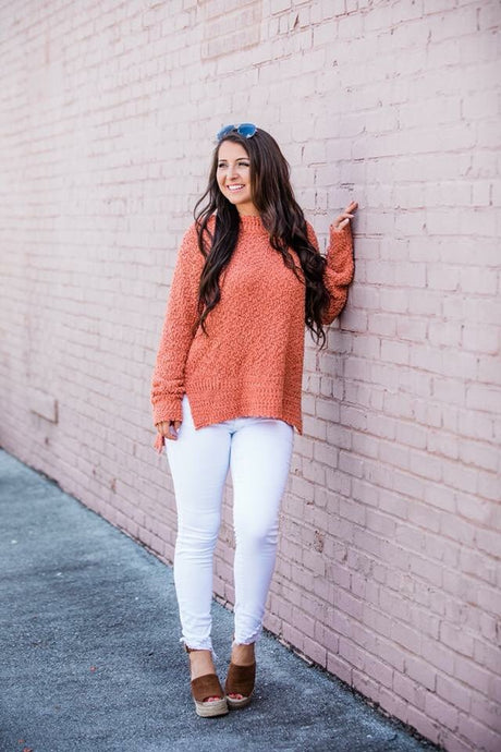 Pumpkin Popcorn Sweater