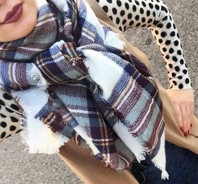 The Chestnut Plaid Scarf
