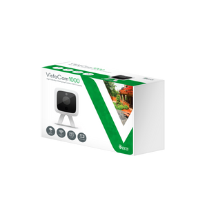 GetVera VistaCam 1000 - Weatherproof Outdoor HD Wi-Fi Camera - EU