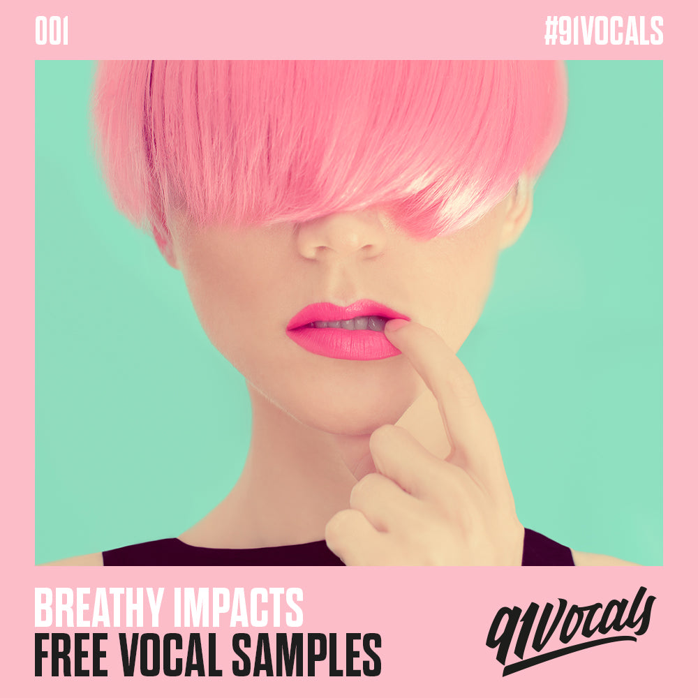 Free Vocal Samples - Breathy Impacts