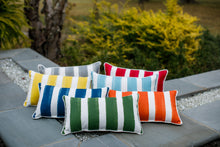 picture of multiple pillows made with nico fabric by premier prints