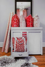 photo of shabby chic modern contemporary fabrics