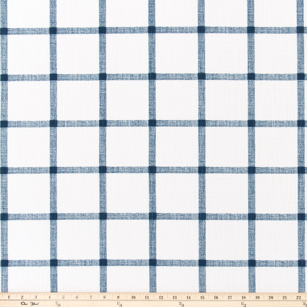 Aaron Italian Denim Slub Canvas Fabric By Premier Prints