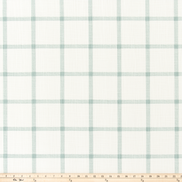 light green window pane fabric - premier prints fabric