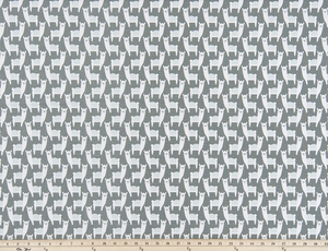 Alpaca Animal Printed on Light Fabric