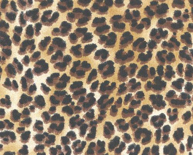 Cheetah Printed on Fabric Zoo Animal Prints
