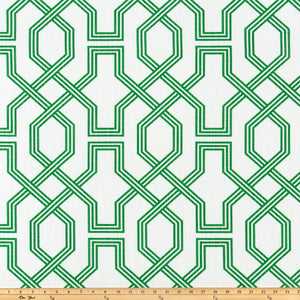 Ander Cool Green Luxe Canvas Fabric By Scott Living