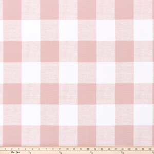 picture of pink buffalo check plaid fabric