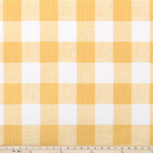 picture of Light Yellow Buffalo Plaid Check Fabric