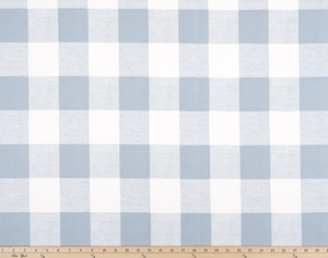 Picture of Light Blue Buffalo Plaid Check Fabric