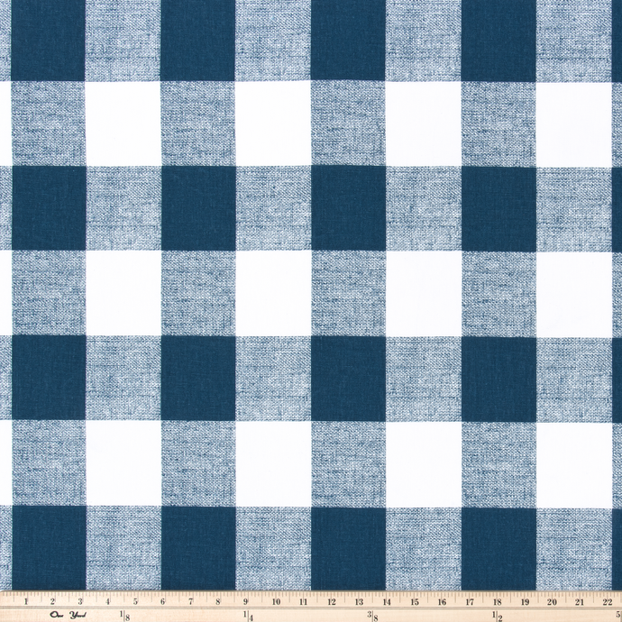Picture of Blue Buffalo Plaid Check Fabric