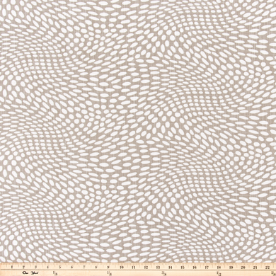 Arnava Dune Luxe Canvas Fabric By Scott Living