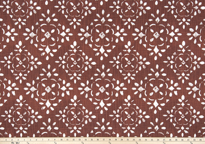 picture of fancy elegant lattice pattern printed on premium luxury fabric