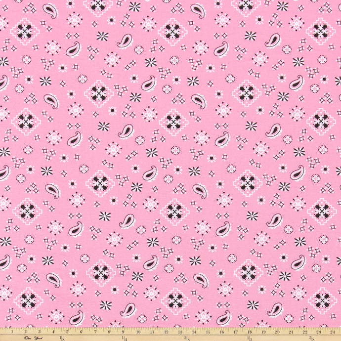 Bandana Prism Pink Fabric By Premier Prints