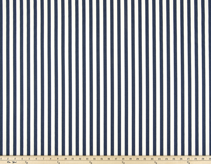 picture of classic stripe pattern printed on cotton fabric