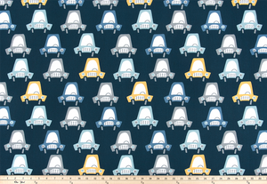 Beep Beep Chill Fabric By Premier Prints